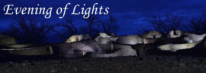 Aztec Ruins Evening of Lights